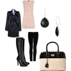 Pink and Black Love this!!!!