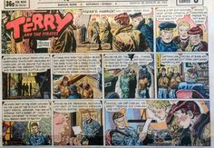 Terry and The Pirates by Wunder Large Half Page Sunday Comic March 29 1953 | eBay