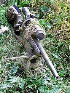 Accuracy International Sniper Rifle