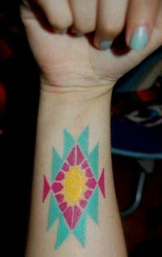 Arizona tribal tattoo