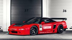 Honda NSX Time Attack Race Car
