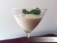 Las recetas de Isafrape: MOUSSE DE COCO