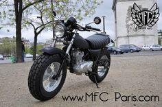 1 SUZUKI VANVAN VAN-VAN Big Black MFC Design - Préparation motos, peinture, design, tuning, Suzuki - Kawasaki