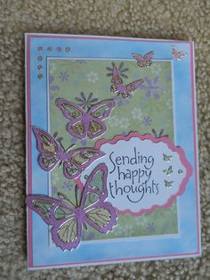 Another card made with Dazzles from Paper Wishes. Dazzles really make the card 'POP'