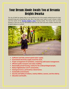 Your dream abode awaits you at revanta heights dwarka