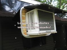 A/C access opening Enclosed Motorcycle Trailer, Enclosed Trailer Camper, Off Road Camper Trailer, Rv Bus, Cargo Trailers, Camper Trailers, Travel Trailers, Campers, Cargo Trailer Conversion