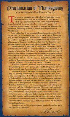 President Abraham Lincoln's 1863 Thanksgiving Proclamation : Proclamation of Thanksgiving, signed by Abraham Lincoln Greatest Presidents, American Presidents, Us History, American History, History Timeline, Ancient History, Thanksgiving Signs, Thanksgiving History Facts, Thanksgiving Blessings