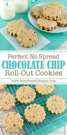 Chocolate Chip Rollout Cookie Recipe