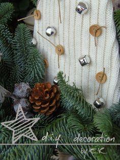 Romantique Jardin: Warm & Woolly...Christmas Trees