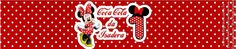 Vai entregar colocar o mini refrigerante na mesa do bolo? Que tal personalizar o rótulo? Olha esse que lindo para o aniversário de 1 ano da Isadora! Fazemos em qualquer tema http://artegram.com.br/loja/artegram-scrap-festa/papelaria-personalizada/rotulo-mini-refrigerante.html #festainfantil #festapersonalizada #papelariapersonalizada #rotulopersonalizado #minirefrigerante #minicocacola #minnie #disney