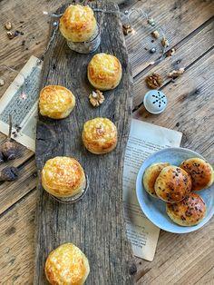 Zemiakovo-syrové pagáčiky z kvásku - Nelkafood s láskou ku kvásku Cereal, Muffin, Breakfast, Food, Morning Coffee, Essen, Muffins, Meals, Cupcakes