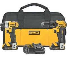 Model Dewalt MAX Ah Cordless Lithium-Ion in. Compact Drill Driver and Impact Driver Combo Kit. MAX Lithium-Ion Compact Drill Driver - MAX Lithium-Ion in. Dewalt Drill, Dewalt Tools, Cordless Power Tools, Cordless Hammer Drill, Home Depot, Driver Tool, Drill Driver, Compact, V Max