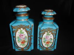Antique Hand Painted Sevres French Perfume Bottles | eBay