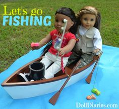 Camp Doll Diaries Let's Go Fishing