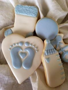 Baby Boy Cookies, Ideas, etc. on Pinterest | 118 Pins (Decorated Bottle Baby)