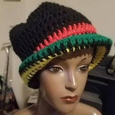 This hat is still available. $15 Think I'll make a scarf to match it!  #crochet #hat #forsale #madeindc How To Make Scarf, Fashion Accessories, Crochet Hats, Beanie, Design, Knitting Hats, Beanies, Design Comics