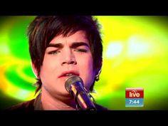 Adam Lambert- Whataya Want From Me Live Sunrise Australia(Acoustic) - YouTube