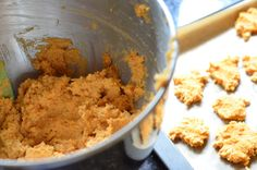 Sweet Potato, Coconut flour, PB Grain Free Dog Treats