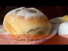 Pão Italiano (receita como fazer) - YouTube
