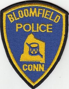 Bloomfield Police (older) Connecticut Ct Shoulder Patch