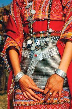 Love the silver! Chin Myanmar Burma tribal fashion