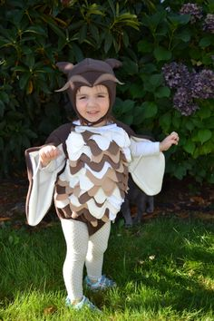 Owl costume  Made To Order available sizes 6 by TheMarmaladeForest, $60.00