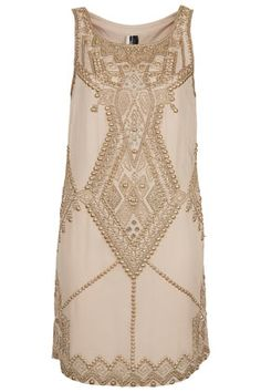Limited Edition Embellished Shift Dress by Top Shop - $380.00