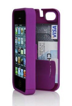 Secret storage case for iPhone <3 #purple