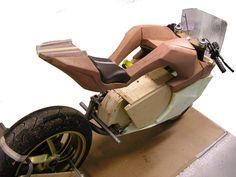 VertiGO | Electrically powered racer by Maarten Timmer, via Behance