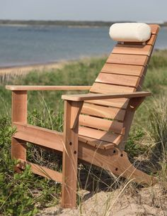 Few pieces of American furniture are as revered or well recognized as the classic Adirondack chair. The New Hope Cedar Adirondack Chair can be enjoyed on lawns, gardens, porches, or country cabins.