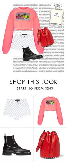 """""""just my imagination"""" by sh1004an on Polyvore featuring Alexander Wang and Chanel"""