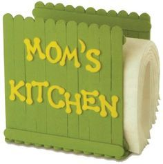 Napkin Holder -- food related craft project
