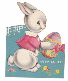 vintage easter card - Google Search
