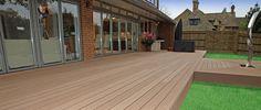Composite Decking, Decking, Boards, Decks, Recycled, Wood, Plastic, Garden, Lightening