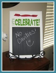 Celebrate sign- there's something to celebrate everyday! How fun to find something everyday to celebrate. And one more sweet way to make kids feel cherished and loved!