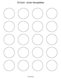 Circle Template Free Printable Circle Templates For Your Next DIY Project is part of Printable circles, Templates printable free, Labels printables free templates, Circle template, Printable label tem - Circle Template, Heart Template, Circle Labels, Crown Template, Flower Template, Macarons, Coconut Macaroons, Paleo Macaroons, Macaroons Flavors