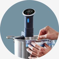 The Precision Cooker is the award winning cooking device from Anova. Precision Cooking is often used for the sous vide technique.