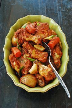 Dakdoritang (Korean - Spicy Chicken Stew)