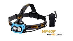 Fenix HP40F Dual light LED Fishing Headlamp Separate White & Blue Beam, Flashlight