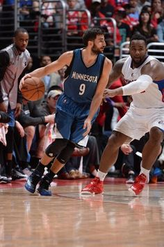 Timberwolves vs. Clippers - Los Wolves de Ricky Rubio y Kevin Garnett pierden antes unos Clippers con gran Deandre Jordan