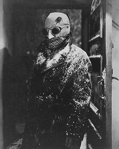 Claude rains - The invisible man ( 1933 ) Universal Directed By James Whale, Special Effects by John P. Best Horror Movies, Classic Horror Movies, Horror Films, Scary Movies, Old Movies, Classic Movies, Horror Art, Stanley Kubrick, Akira