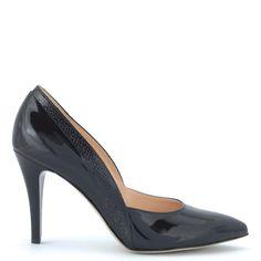 Anis alkalmi cipő | Magas sarkú fekete lakk alkalmi cipő http://chix.hu