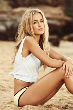 Steph Smith by David Higgs #cali #calilife #beachyblonde