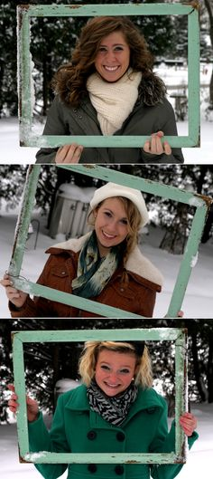 winter, frame photography