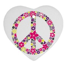 peace sign in heart
