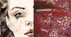 Crudas e intensas obras de Rosaria Battiloro « Cultura Colectiva