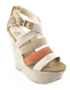 Clean!  Woven Wedge