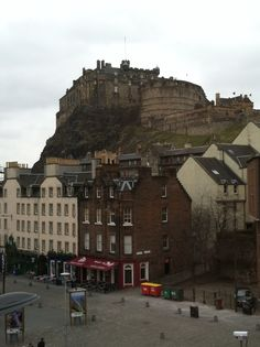 View of Edinburgh Castle from Apex City Hotel