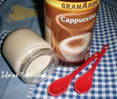 Ideias Saborosas: Iogurte Capuccino
