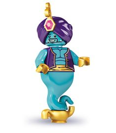 #LEGO Minifigures serie 6: #Genie